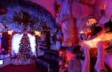英七旬夫妇提前60天 装扮好房屋迎接圣诞